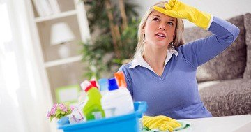 Bien Magazine - Doing house chores helps burn calories