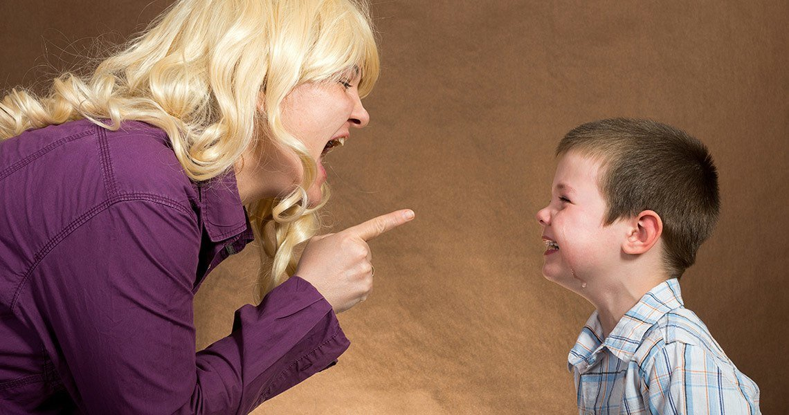 Parents should control their emotions, not to say something they will later regret