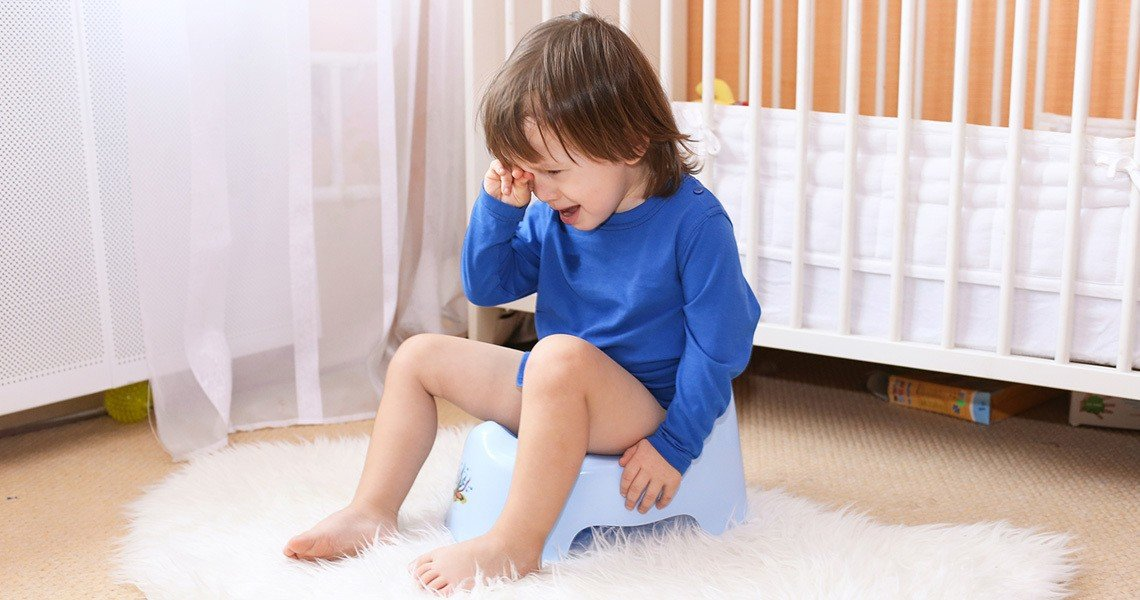 Tips for child care - some children find potty training not easy, others will manage it straight away