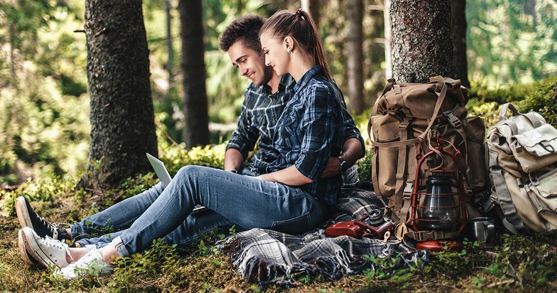 women's magazines online - a date in the woods will be a great adventure for those who love nature but in turn will tire and bore a city lover