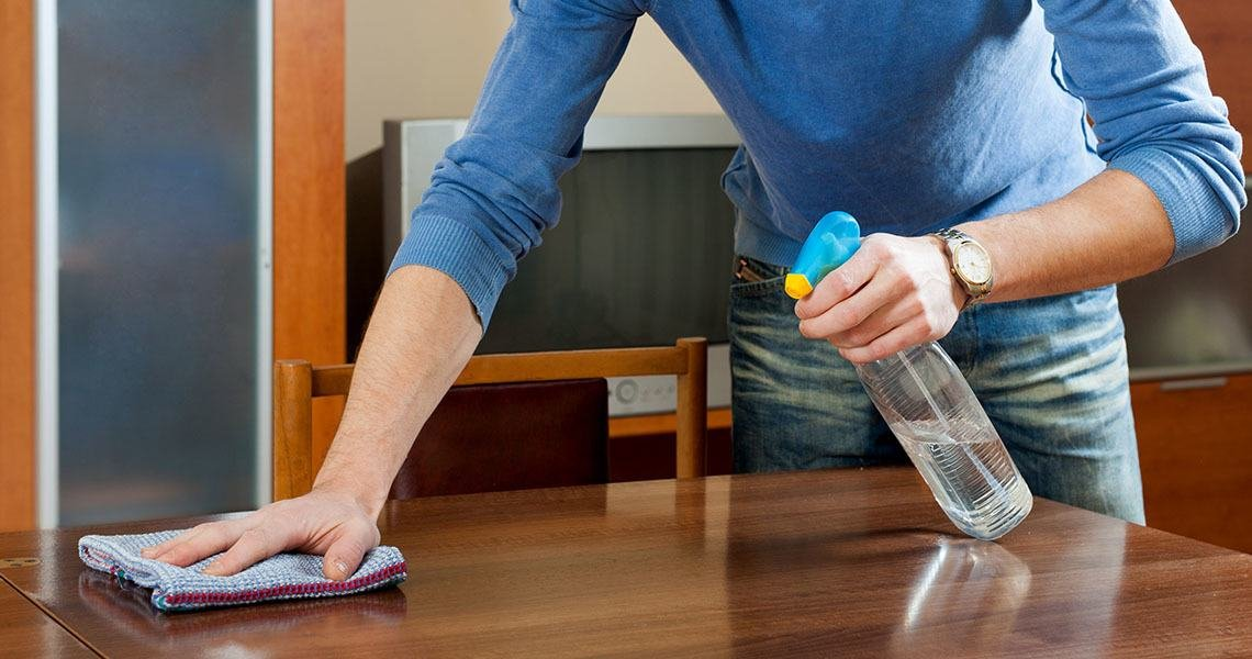 If you use our tips on household cleaning, you can deal with the dust in your home