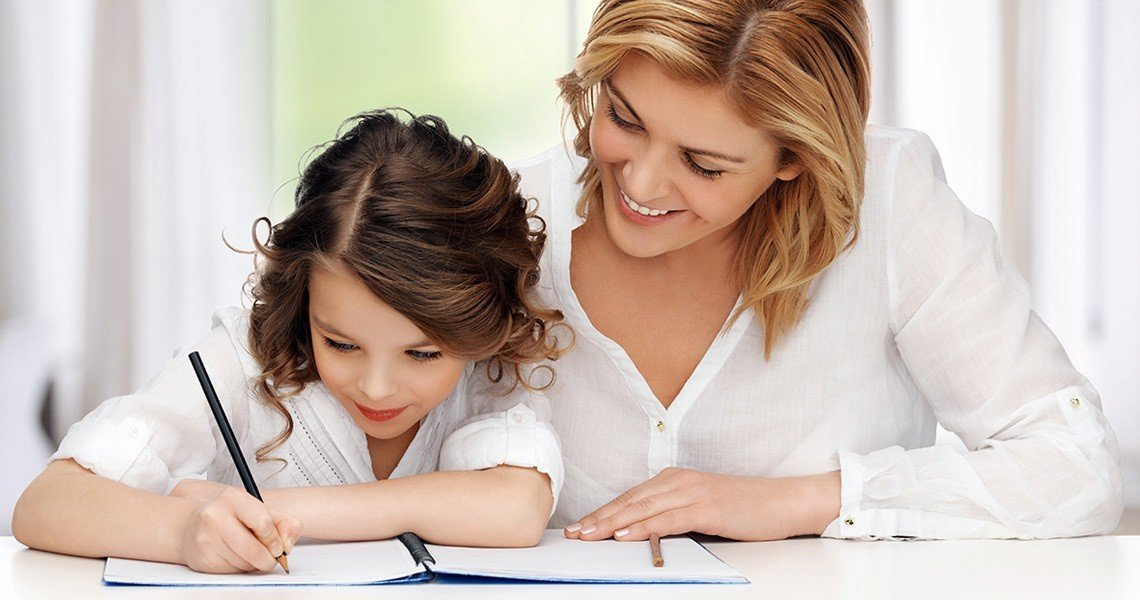 Our tips for child care - to help your child with homework, be present but do not do the work for them