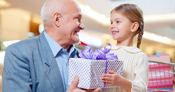 Many grandchildren bend over backwards to give their grandfathers the best gift in the world