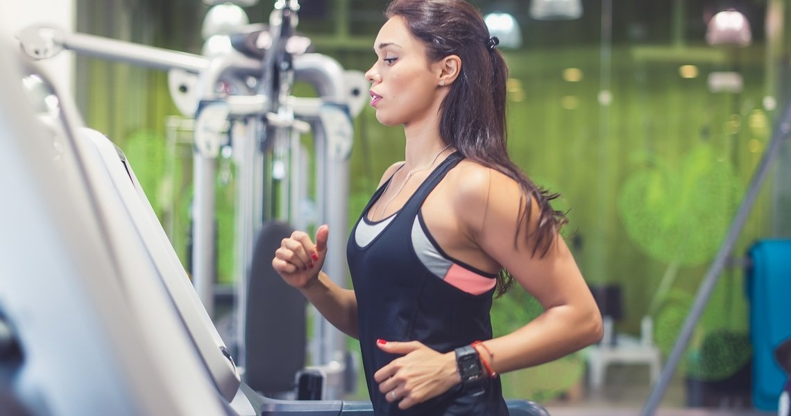 HIIT training for losing weight and looking fit