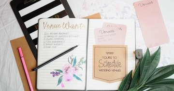 prepare for your wedding with a wedding planner