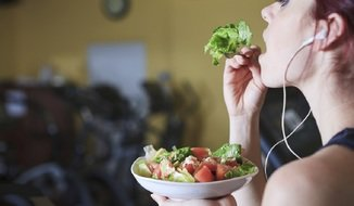 eating well and exercise is crucial for a successful diet